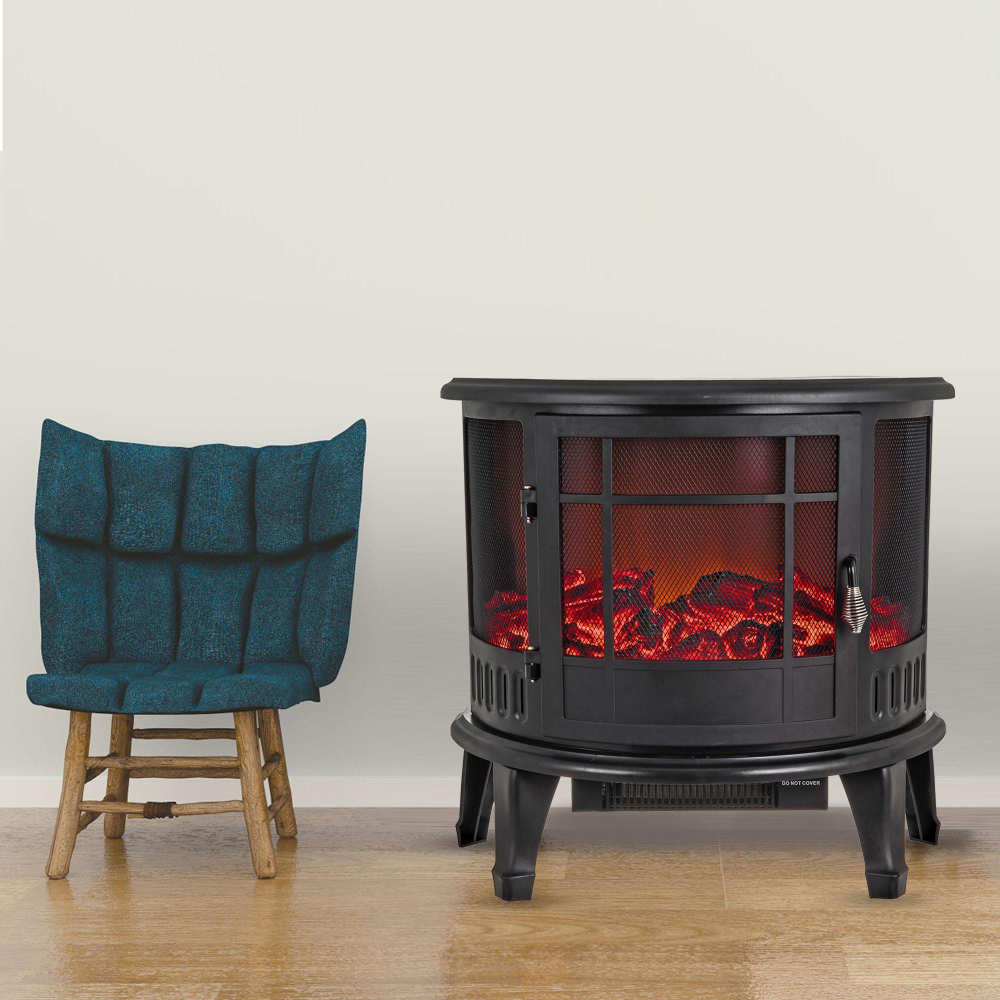 1800W Electric Flame Log Burning Effect