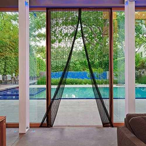 Magic Curtain Door Mesh Magnetic Hands Free Fly Mosquito