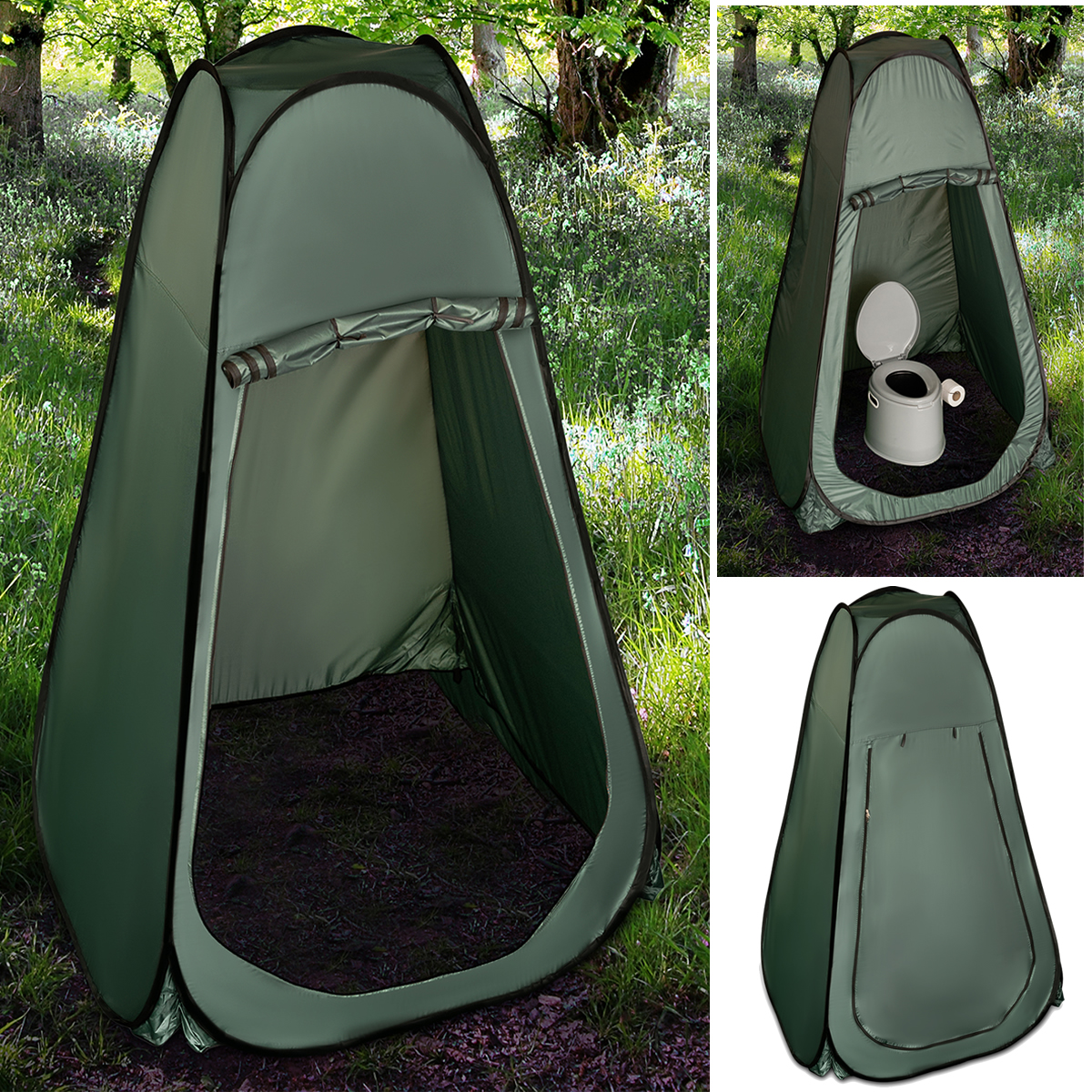 Details about PORTABLE POP UP TENT OUTDOOR CAMPING TOILET SHOWER INSTANT CHANGING PRIVACY ROOM