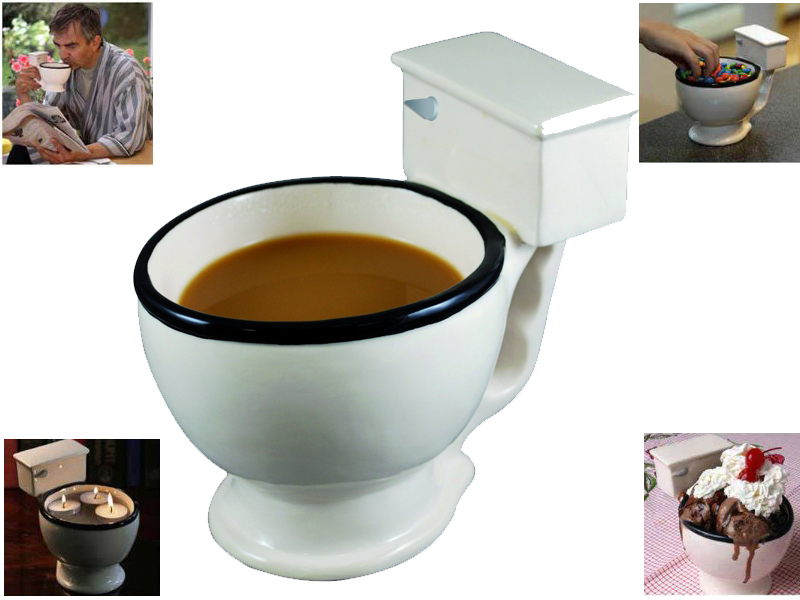 Workers On Wheels >> Brand New Novelty Giant Toilet Mug Bowl Coffee Tea Cup ...
