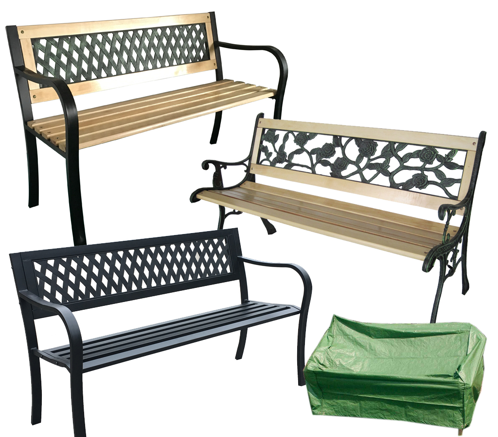 Remarkable Details About Wooden Metal Garden Patio Bench Seat Outdoor Park Seater Lattice Rose Furniture Ncnpc Chair Design For Home Ncnpcorg