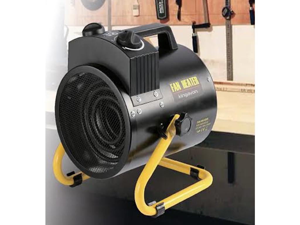 Kw industrial tilting workshop heater electric fire fan