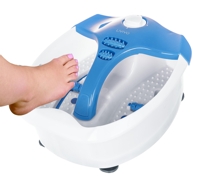 INFRARED VIBRATING WET BATH FOOT SPA MASSAGER PEDICURE FOOTSPA ...