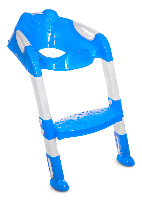 Toddler Potty Loo Training Toilet Seat Step Ladder Teddie