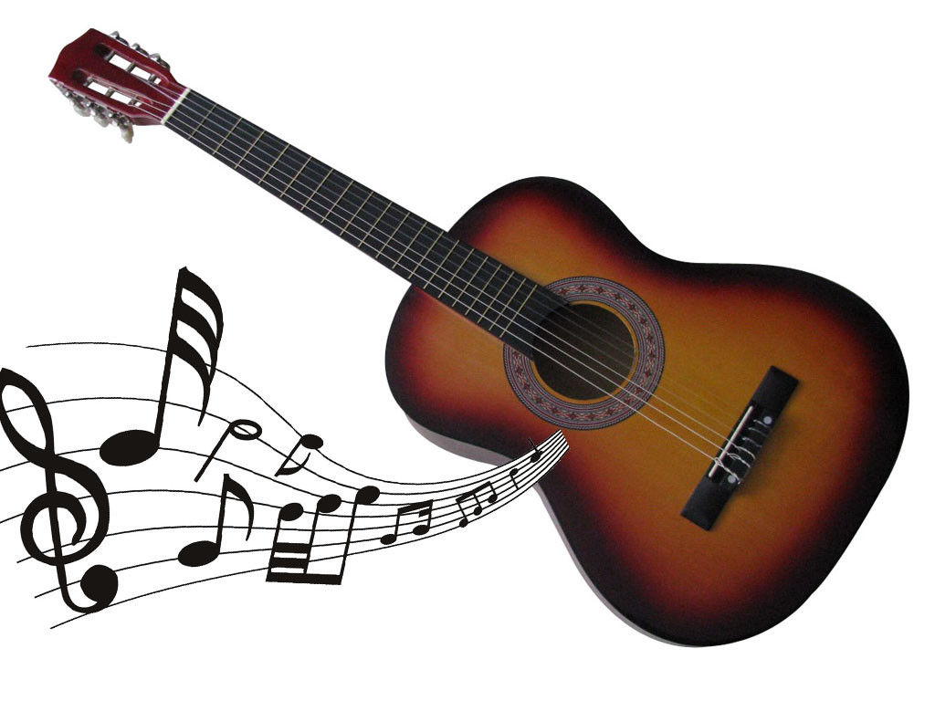 3 4 size 36 acoustic guitar for students adult beginners 6 nylon strings music ebay. Black Bedroom Furniture Sets. Home Design Ideas