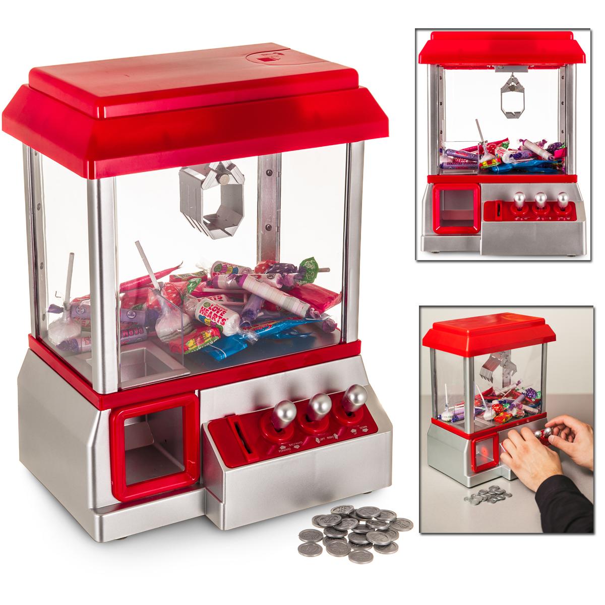 Toy Claw Machine Game : Arcade candy grabber machine toy claw game kids fun crane