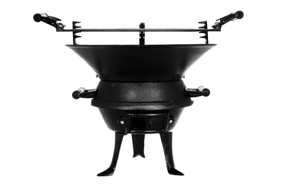 Firepit Bbq Fire Basket Outdoor Barbeque Grill Charcoal