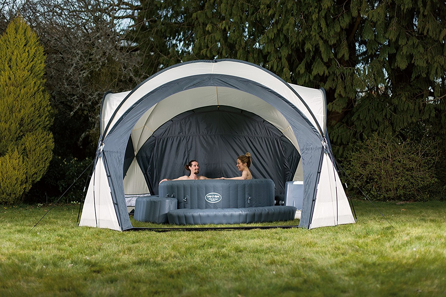 BESTWAY LAY-Z SPA HOT TUB POOL DOME ENCLOSURE GAZEBO ...
