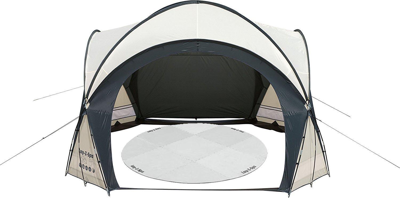 bestway lay z spa hot tub pool dome enclosure gazebo. Black Bedroom Furniture Sets. Home Design Ideas