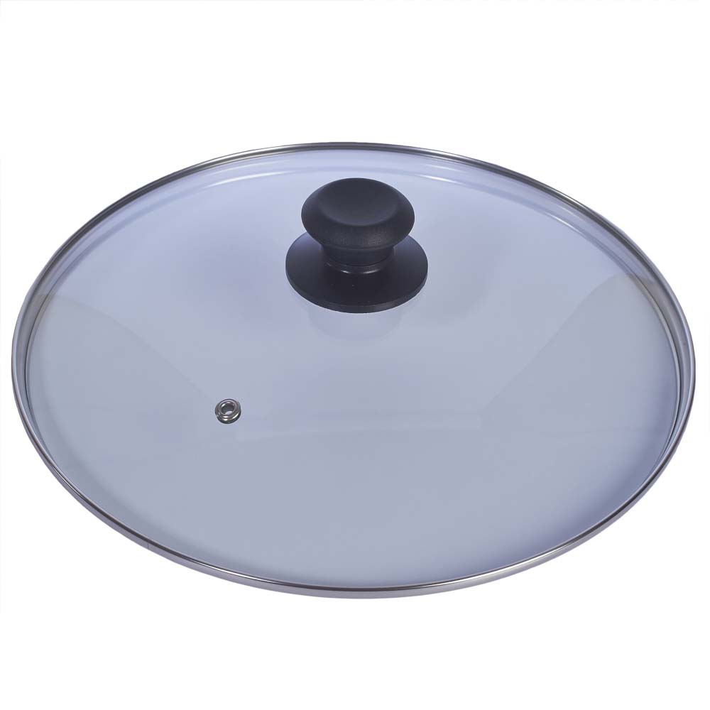 Livivo replacement vented frying fry pan saucepan for Pfannendeckel glas 28cm