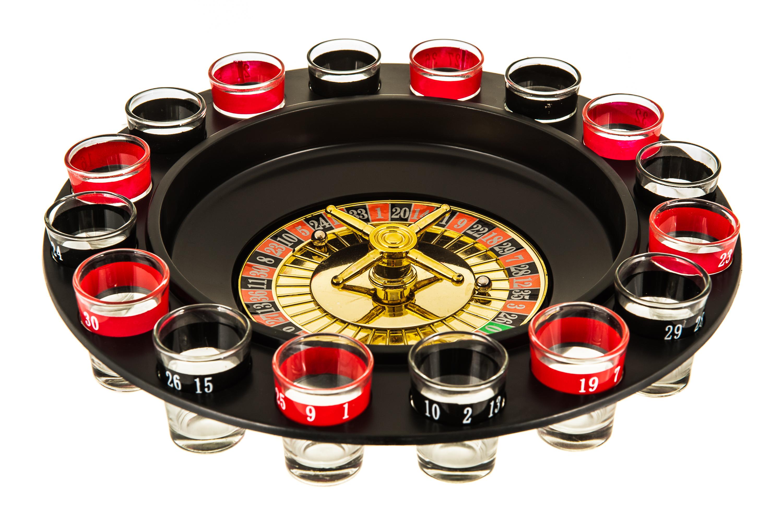Drinking roulette set poker cash giveaways