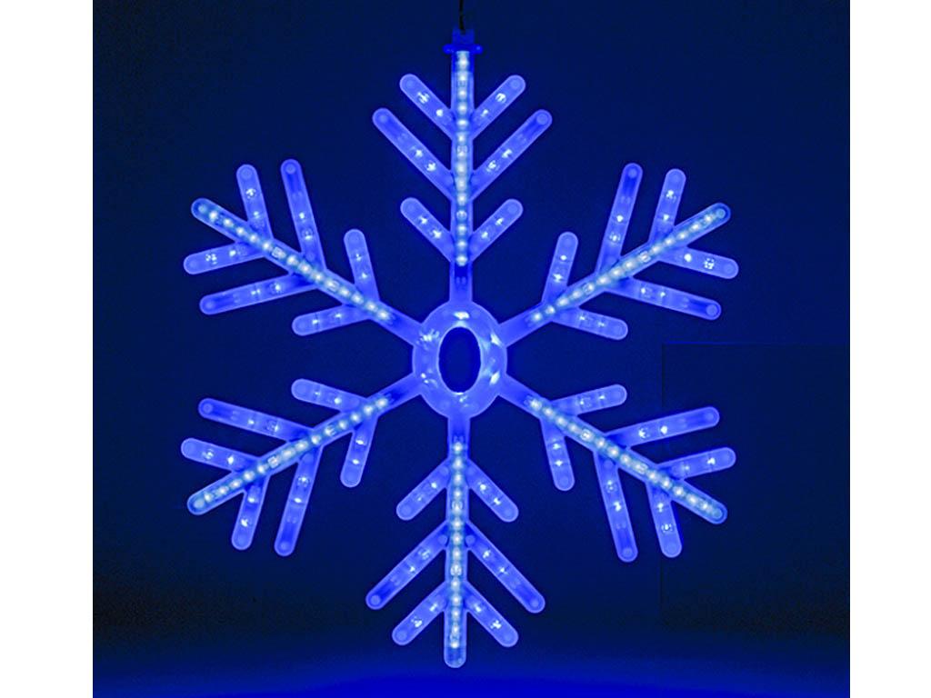 Christmas blue white led snowflake rope lights indoor outdoor christmas blue white led snowflake rope lights indoor outdoor decoration 60cm mozeypictures Images