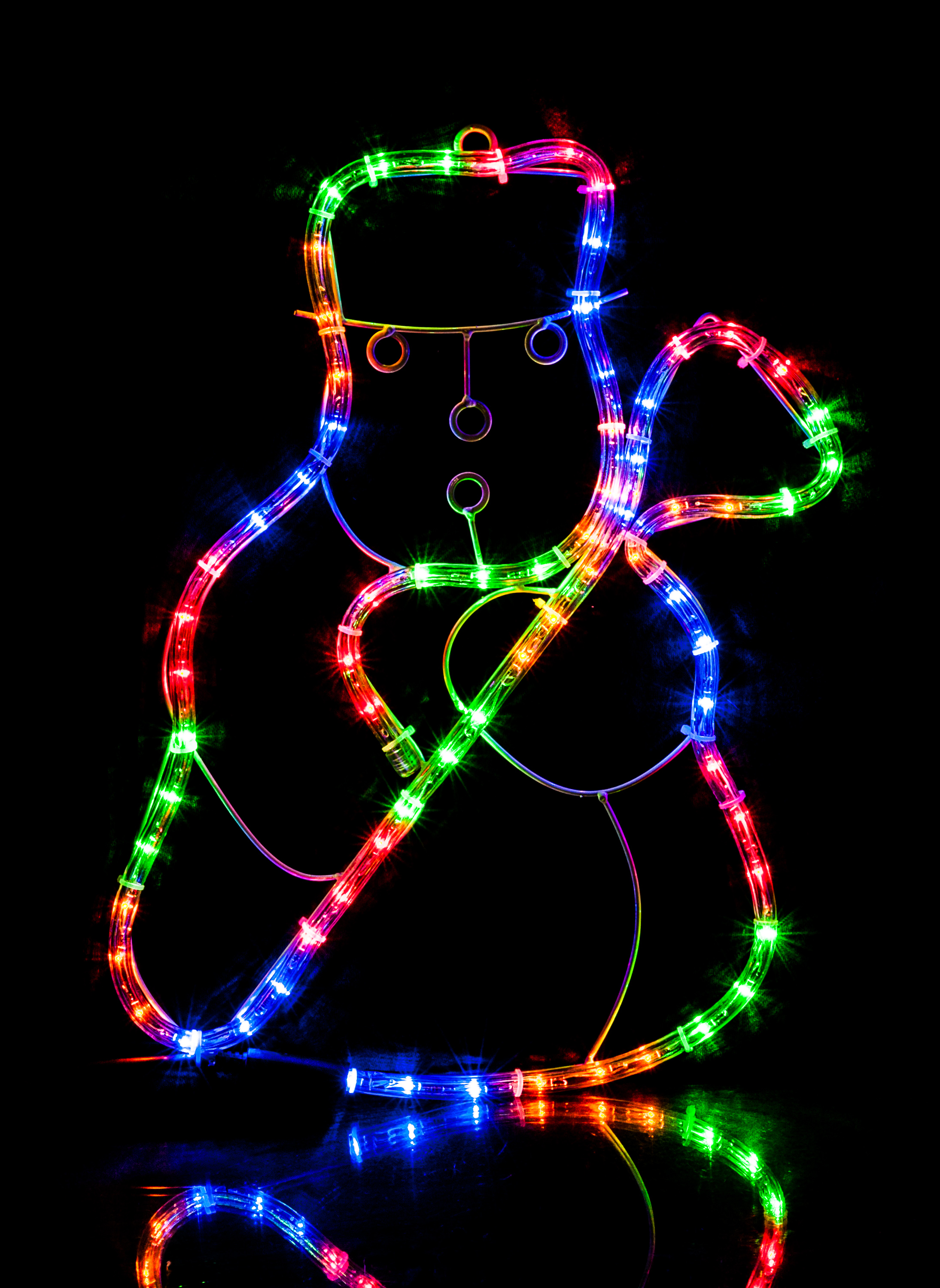 Christmas multi coloured led rope silhouette lights window christmas multi coloured led rope silhouette lights window decoration xmas home aloadofball Images