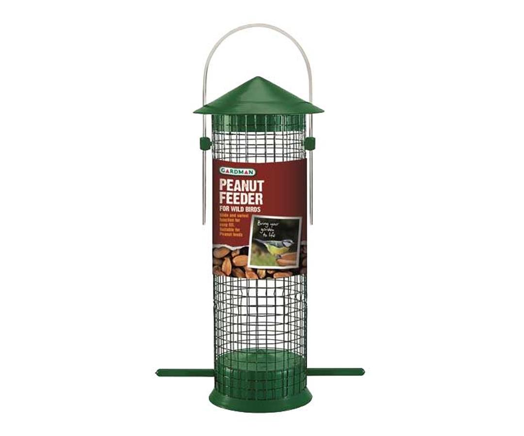 Squirrel Proof Hanging Wild Bird Nut Peanut Feeders Feeding Garden New Firm In Structure Home & Garden