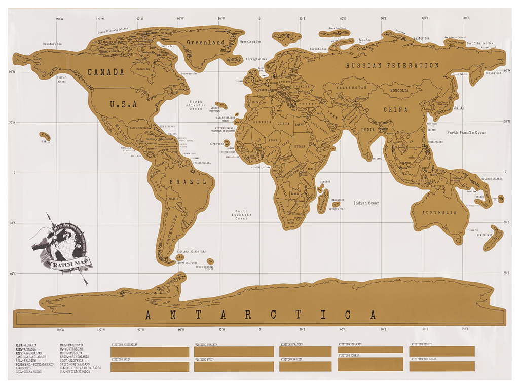 Scratch off world map poster travel vacation personal personalize scratch off world map poster travel vacation personal personalize log gift large publicscrutiny Image collections
