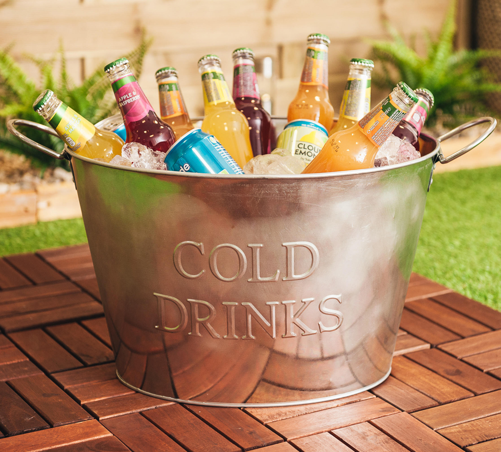 Collectables Breweriana Drinks Pail Champagne Bucket Party Tub Party Time Drinks Tub Wine Bucket Genuss Ng