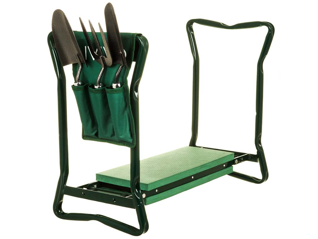 2 In 1 Garden Kneeler Seat Folding Portable Foam Gardening