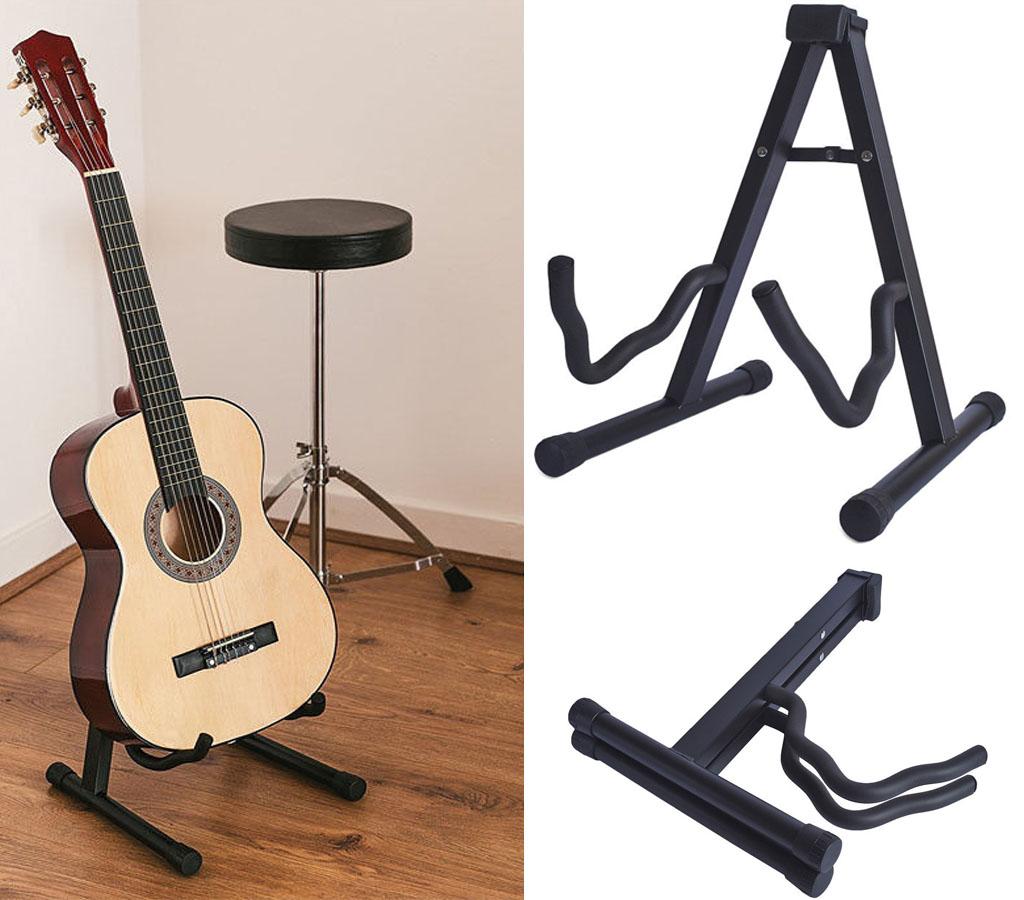 beginner 36 acoustic guitar package gig carry bag music stand holder foot stool ebay. Black Bedroom Furniture Sets. Home Design Ideas