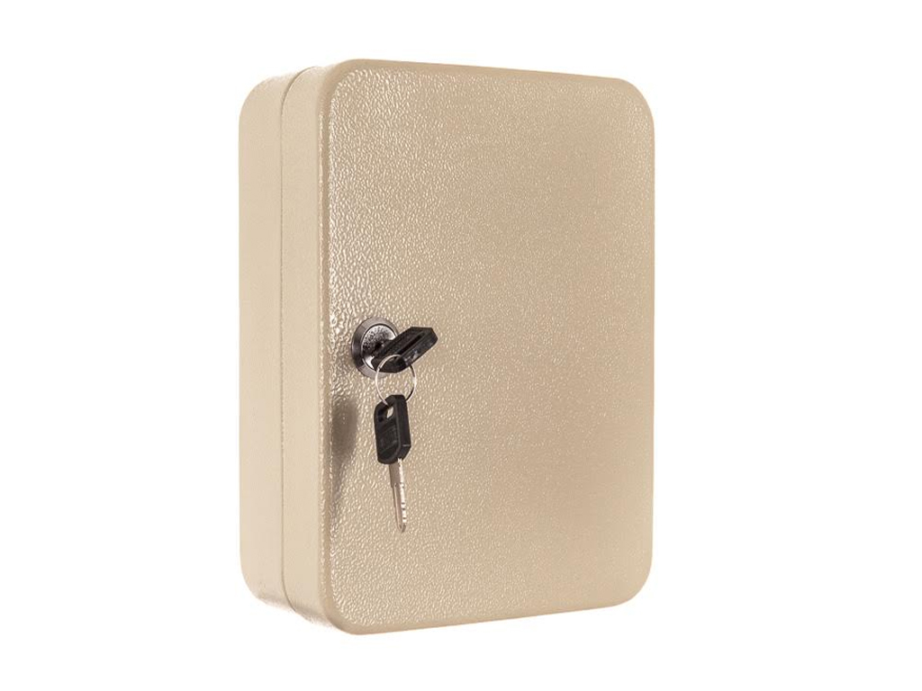 LIVIVO 20 HOOK STEEL KEY CABINET SAFE BOX STORAGE LOCKING