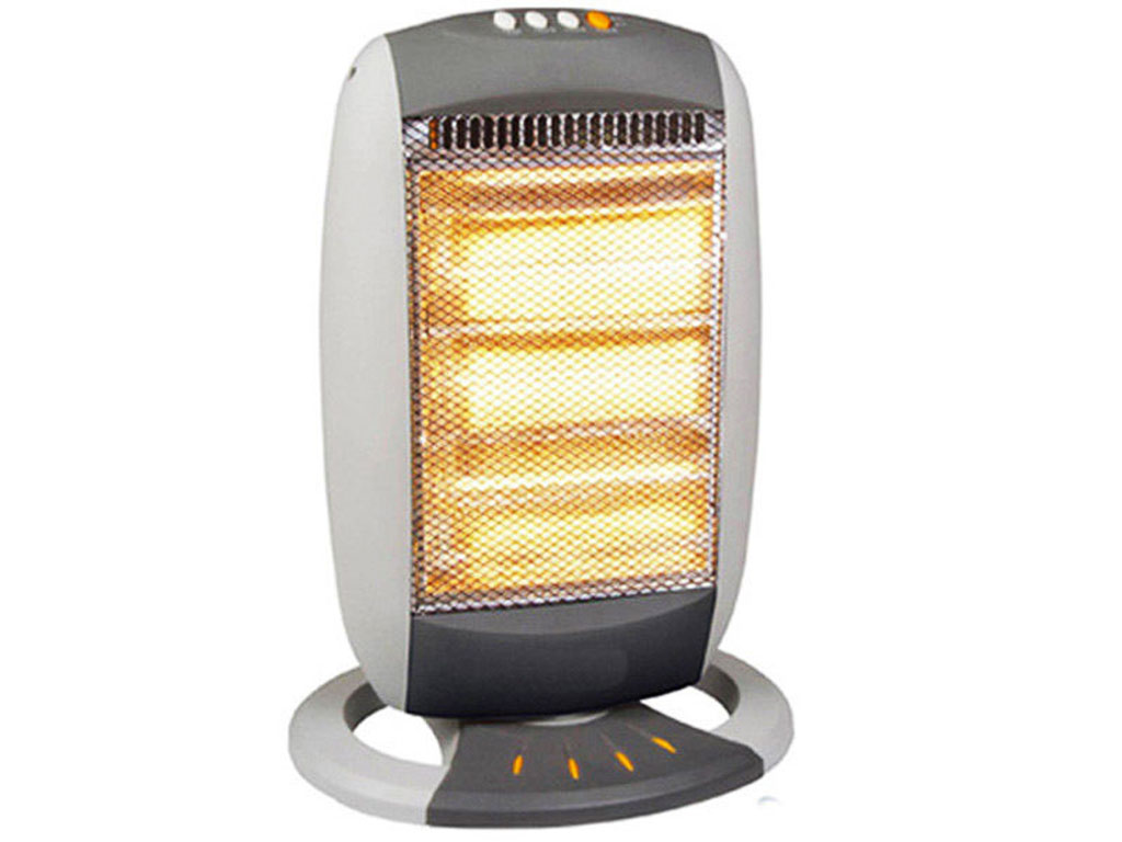 Portable Electric Halogen Heater 1200