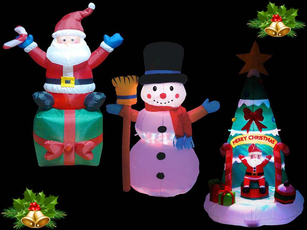 Christmas Tree Inflatables.Details About 4 6ft Inflatable Christmas Giant Tree Santa Decoration Flashing Led Lights Xmas